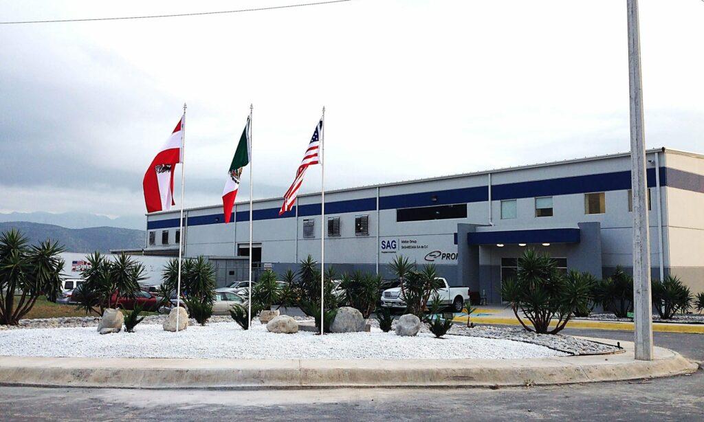 SAG übernimmt drei neue Standorte in Mexiko zu 100% und stärkt damit auch die österreichische Holding