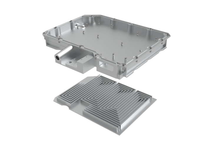 High voltage electronic housing