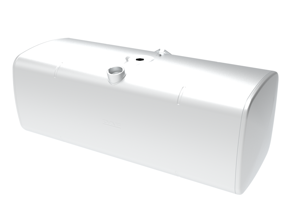 Fuel tank without steps