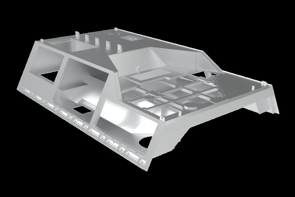 Train roof